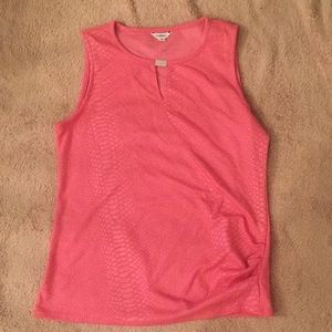 Calvin Klein pink top medium